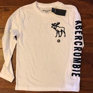 Brand New with tags! Boys 7/8 Abercrombie LS Tee